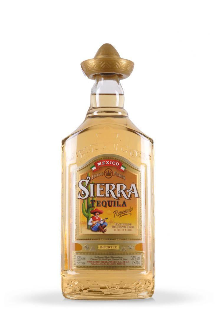 Tequila Sierra Reposado Gold (0.7L) - SmartDrinks.ro