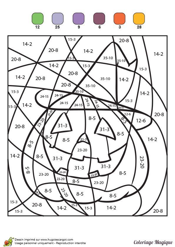 Favori Plus de 25 idées uniques dans la catégorie Coloriage halloween sur  QA86