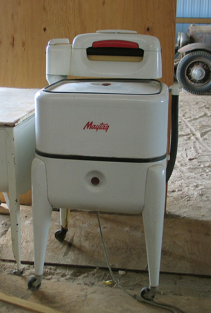 Maytag Ringer Washing Machine 1950 1960 1970 1980