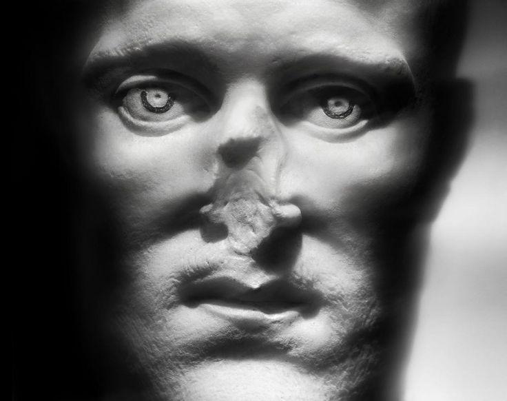 "Emperor Constantius Chlorus, marble bust, ca. 300 AD. from the series: ""Il tempo grande scultore"" That Mighty sculptor, Time Photographer: Giovanni Ricci Novara"