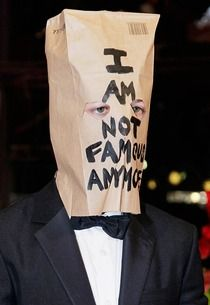 Shia LaBeouf Wears Paper Bag on His Head to Movie Premiere