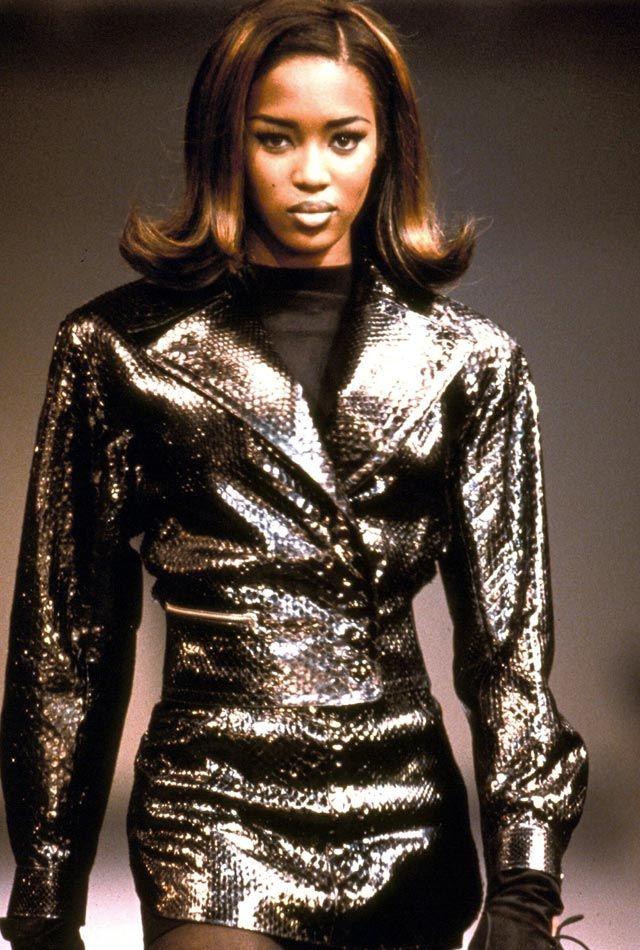 Alaïa Fall 1991 Ready-to-Wear Fashion Show   Fashion ...  Naomi Campbell Alaia Dress