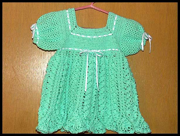 """Pistachio Dress,"" sz 12-18 mos, $40"