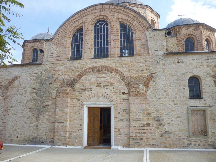 Φέρες (Feres) στην πόλη Έβρος, Έβρος Παναγία Κοσμοσώτειρα χτισμένη από τον Ισάακιο Κομνηνό