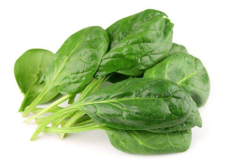 Σούπερ τρόφιμα για μυς: Σπανάκι!  Είναι μια από τις πιο αλκαλικές τροφές. Το σπανάκι αποτρέπει την απώλεια οστικής μάζας, μυικής μάζας, αλλά και τον καρκίνου και τις καρδιακές παθήσεις, λόγω του υψηλού προφίλ των θρεπτικών συστατικών του. E-Dentistry