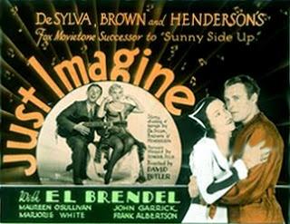"""Just Imagine"" Maureen O'Sullivan, ""Madam Satan"" (1930) Lillian Roth $8.99 FREE ship USA http://rarefilmclassics.blogspot.com/2013/04/just-imagine-1930-maureen-osullivan.html"