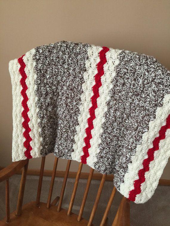 SALE Crochet Baby Blanket Baby Blanket Boy  by LazyLadyCrochetMN                                                                                                                                                                                 More