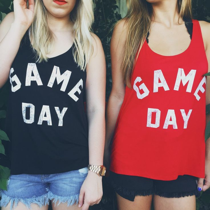 This tank top is perfect for whatever game day you're going to! This top comes…