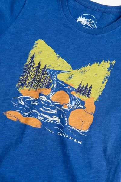 a3dd8128f Kids' Woodcut River Tee | W+Z | River tees, Tees, Mens tops