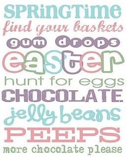 Easter: Holiday, Subway Art, Landeelu Com, Easter Printables, Spring Easter, Free Printables, Easter Spring, Easter Ideas, Easter Subway