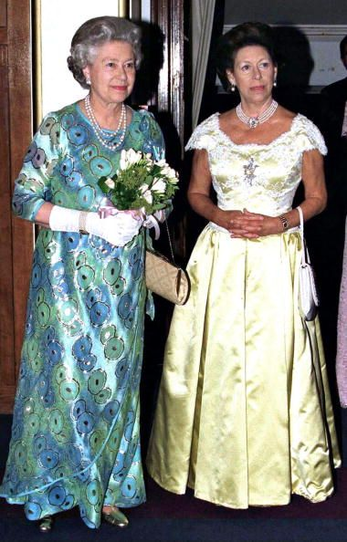 The Queen And Princess Margaret Attending A Concert At The Royal College Of Music