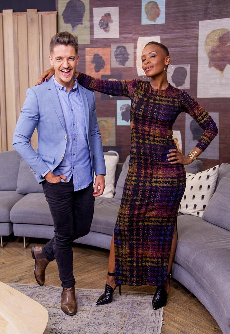 Afternoon Express, Episode 218, 13 April 2016 - See where Danilo Acquisto and Bonnie Mbuli got the look!