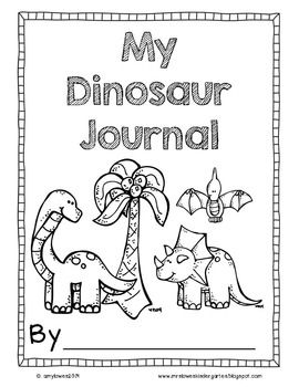 New!  Dinosaur Discovery Math, Literacy, and Science unit for K or 1st! Over 120 pages of dinosaur fun! $