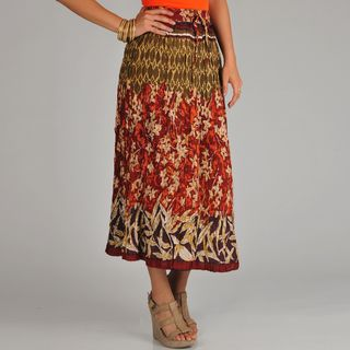 @Overstock.com - La Cera Women's Reversible Printed Broomstick Skirt - This airy broomstick skirt by La Cera features a bold floral multi-print. This broomstick-style skirt is pleated and reversible.   http://www.overstock.com/Clothing-Shoes/La-Cera-Womens-Reversible-Printed-Broomstick-Skirt/6753307/product.html?CID=214117 $41.99