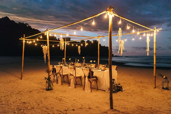 Beach Wedding In Thailand By