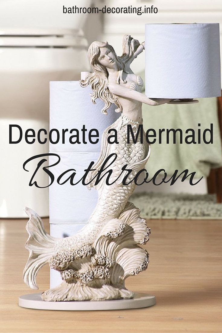 Decorate a Mermaid Bathroom