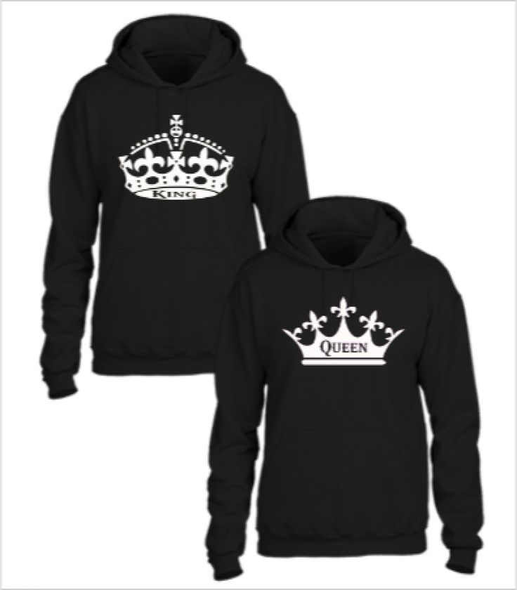 king and queen couple couple hoodie hoodies. Black Bedroom Furniture Sets. Home Design Ideas