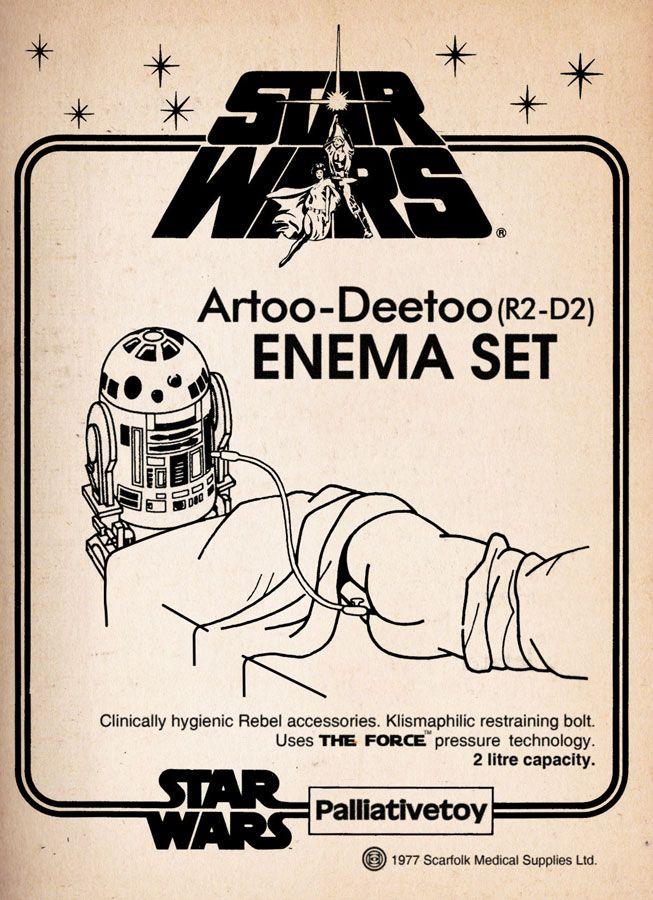Scarfolk Council: Unreleased Star Wars Merchandise Prototypes (1977)