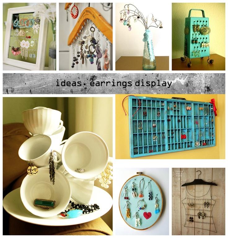 earrings display ideas