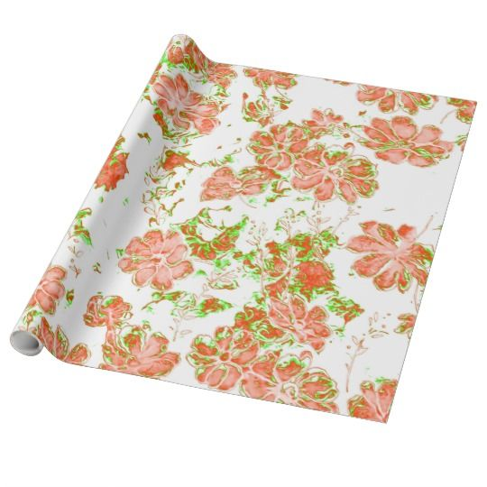 floral dreams 12 D Wrapping Paper