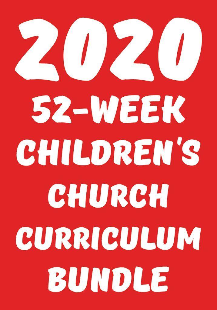 2020 52-Week Kids Church Curriculum Bundle