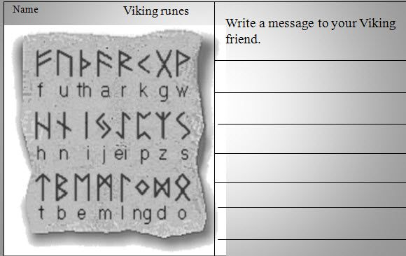 The Vikings: runes - Comprehensive PowerPoint charting the origins of Viking writing, the high regard they held it in and how it was used in an everyday manner.