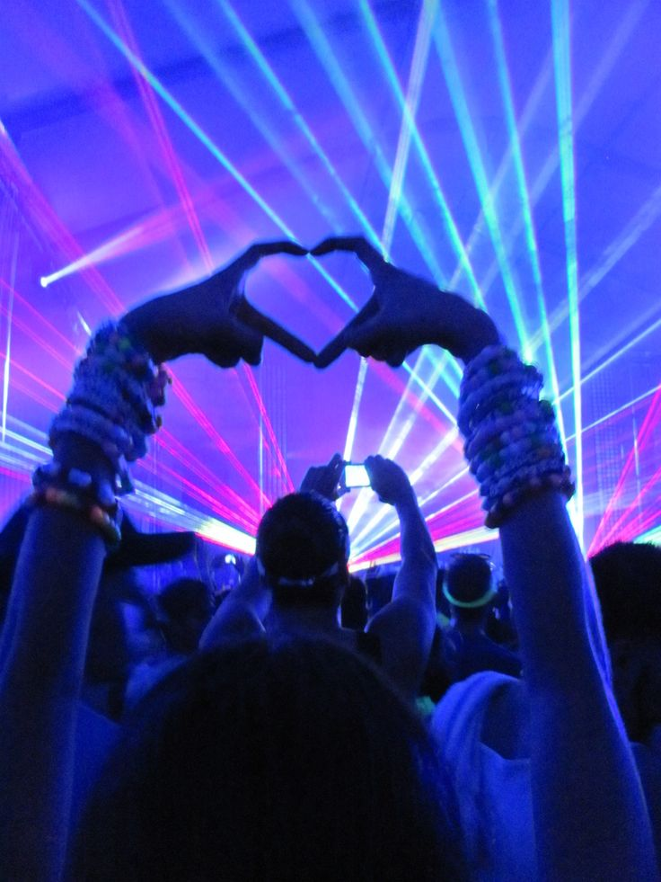 The love I share and the love I feel at any and all EDM events is unparalleled in this universe