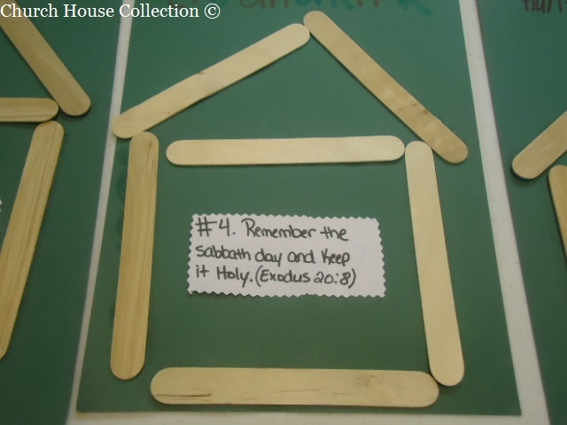 Kids Craft Ideas For Keeping Sabbath Day Holy