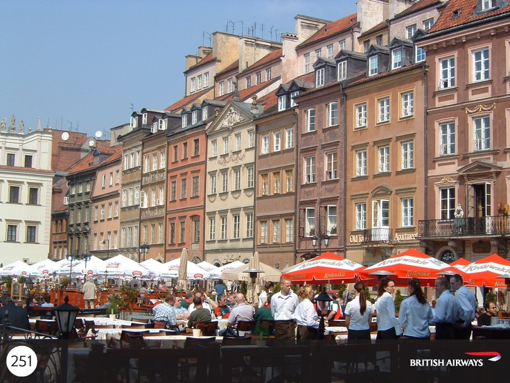 Explore Warsaw's UNESCO World Heritage Old Town from the striking riverfront facades to its cobbled backstreets.