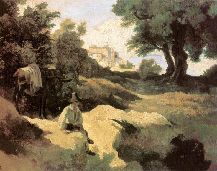 Olasz táj fiúval és szamárral 1843.jpg (1197×945)