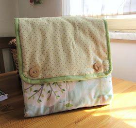 La sciarpa che canta: Come realizzare un Kit per il cambio bebè o fasciatoio da viaggio