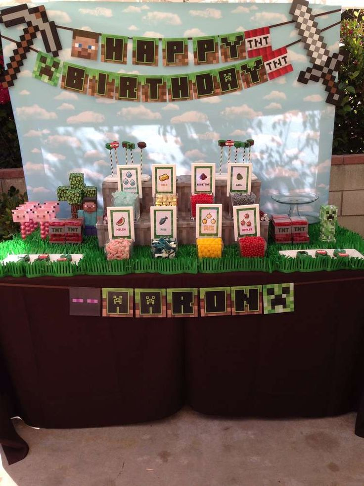 Minecraft Craft Ideas For Party