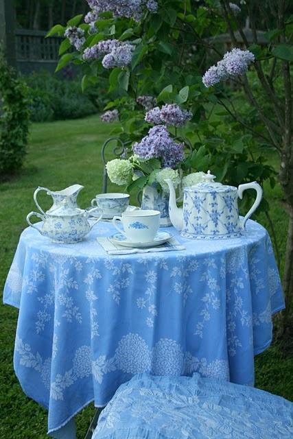 French Blue Garden Tea