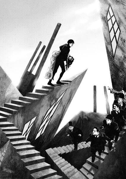 EL GABINETE DEL DOCTOR CALIGARI |