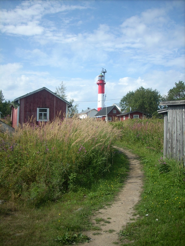 The island Tankar in the Finnish archepelago. Wouldn't you love to have a cottage there?