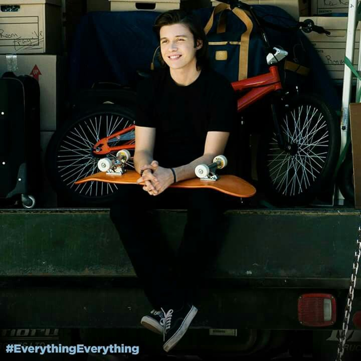 #everythingeverything Olly ❤ Nick Robinson
