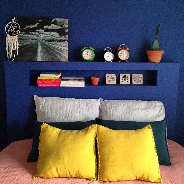 Une chambre colorée, colors, home