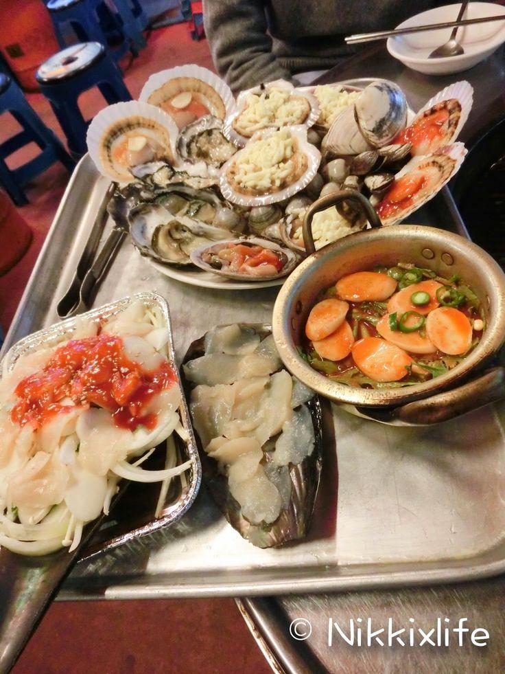 【首爾食記2015】新村海鮮燒:大大盤超滿足! | NIKKIxLIFE – U Blog 博客
