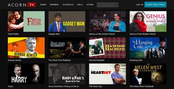 Best alternate legal streaming services: Acorn TV