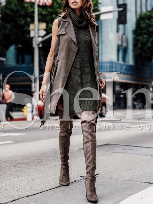 Shop Brown Notch Lapel Sleeveless Trench Coat online. SheIn offers Brown Notch Lapel Sleeveless Trench Coat & more to fit your fashionable needs.
