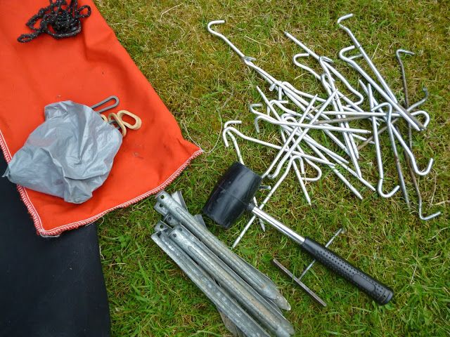 Tent Sniffing for Beginners: Tent Pegs - just a small metal stick