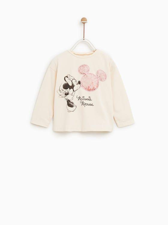 ac5ba913 MINNIE MOUSE® T-SHIRT | disney inspo | Zara kids, Girl outfits, Baby ...