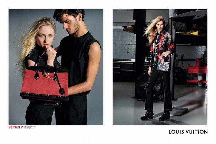 Louis Vuitton fall-winter 2017 campaign // Рекламная кампания Louis Vuitton осень-зима 2017-2018