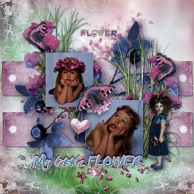 A flower for you - Collection by Pat's Scrap