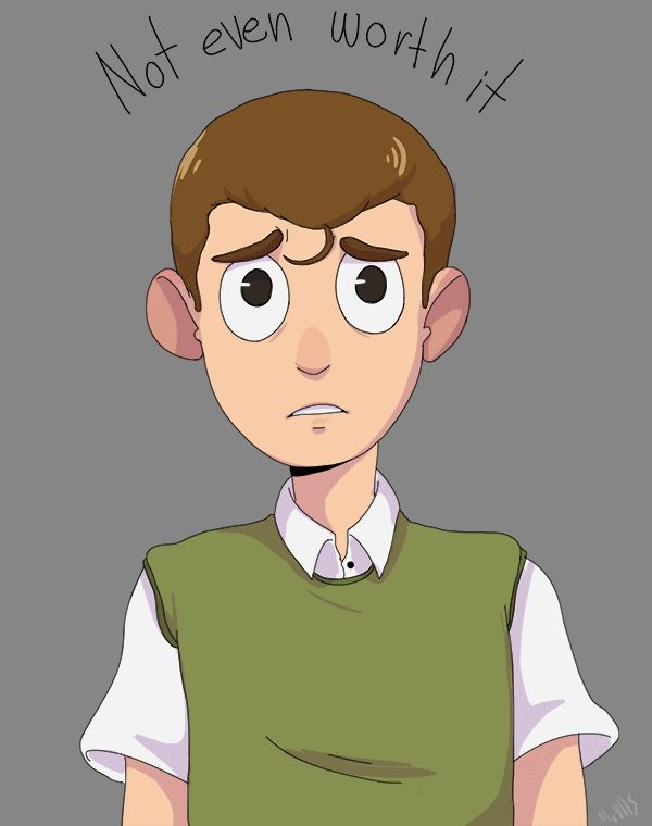 Two Moral Orel doodles I forgot to post!