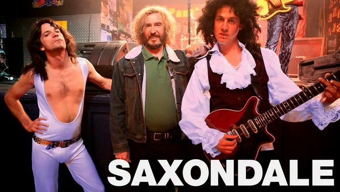 "Saxondale -- ""This quirky Britcom profiles Tommy Saxondale, a former rock roadie stuck in his glory days who isn't afraid to speak his mind--loudly and offensively--despite the anger management sessions his friends hope will calm him."""