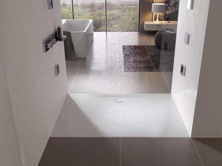 BETTEFLOOR SIDE Rectangular Shower Tray By Bette Design Tesseraux + Partner