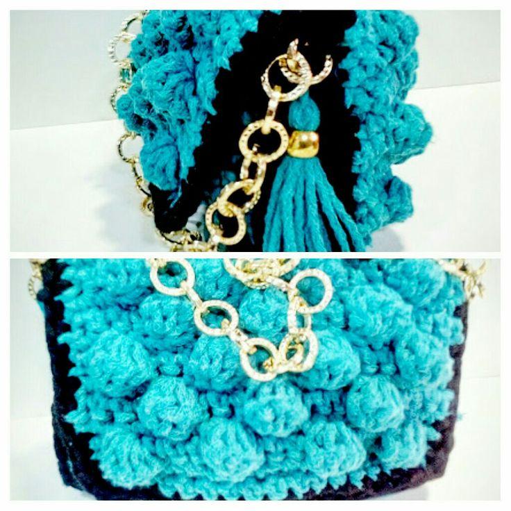 Bubble bag crochet