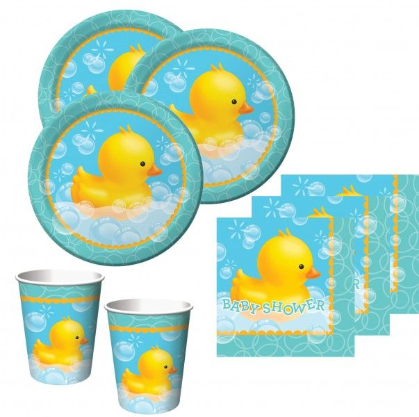 "Baby Shower ""Bade Entchen"" Party Deko Set"