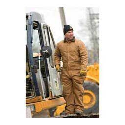 Deluxe Insulated Mens Coveralls - Short Brown - Item # 39972
